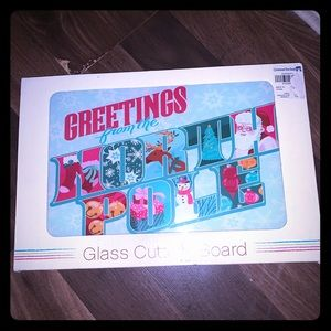 Other - New Christmas cutting board